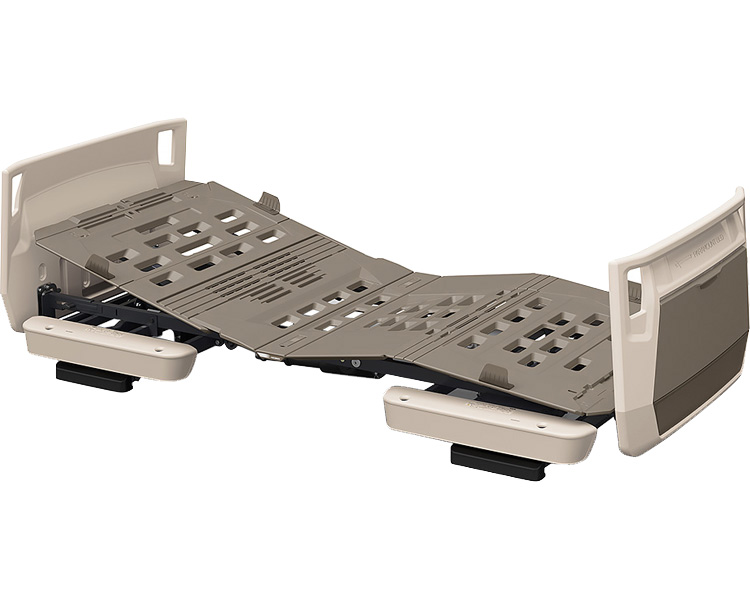 楽匠プラス 多機能 2モーション H脚タイプ 91cm幅 オプション受:キャメル ボード:キャメル KQ-A5322 パラマウントベッド 介護用品 介護ベッド 電動ベッド 在宅介護 高齢者 ベッド
