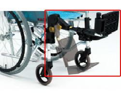 エレベーティング・スイングアウト機構 樹脂ユニットへ変更 (車椅子と同時購入に限ります。) 松永製作所 【介護用品】【smtb-kd】