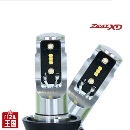 LEDバルブキット ニッサン(日産) キャラバン (E26系)ハロゲン車 年式12.06~【ZRAYXD RX1 ヘッドライト用 H4(Hi/Lo)】6000K ゼットレイ