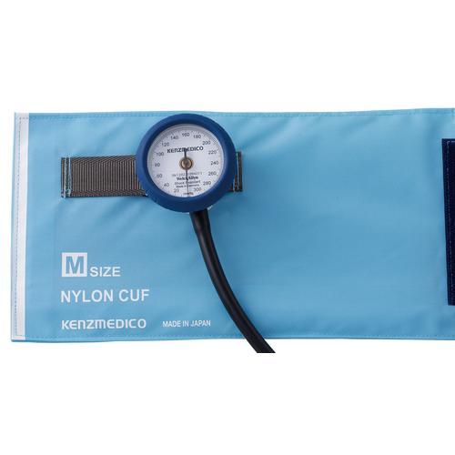 ケンツメディコ 耐衝撃性アネロイド血圧計 Dura-X ライトブルー No.555