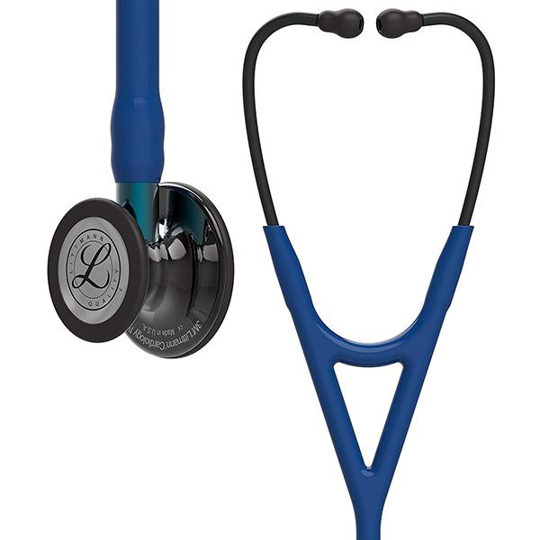 リットマン 聴診器 Cardiology IV ネイビー/ブルーステム/ポリッシュスモーク 6202 3M Littmann カーディオロジー4 ステート