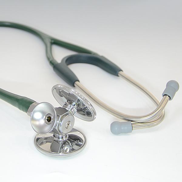 ウェルチアレン 聴診器 Harvey DLX トリプルヘッド (Forest Green) Welch Allyn