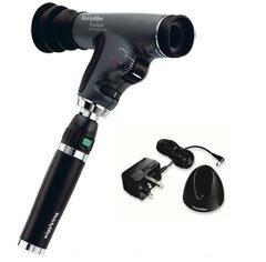 3.5V リチウムイオン充電器ハンドル付パンオプティック検眼鏡(眼底鏡)11810+71907