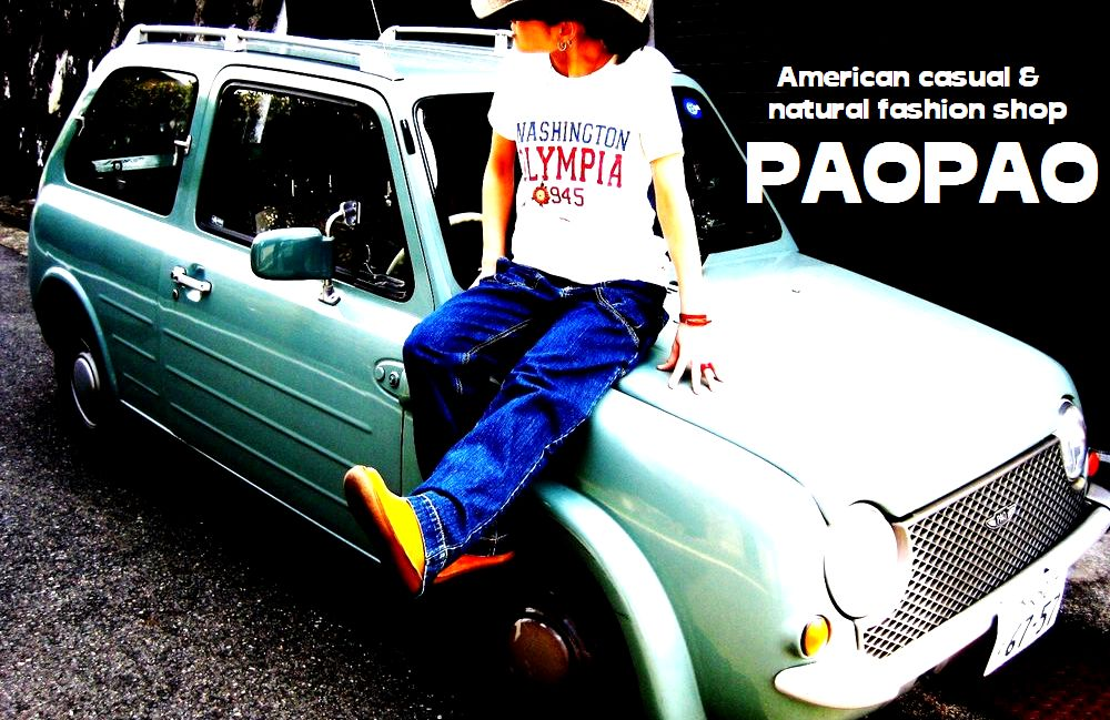 PAOPAO:レディースファッション・アメカジ・ナチュラルShop