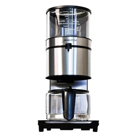 デバイスタイル・ドリップ式コーヒーメーカー PCA-10X(10杯用)