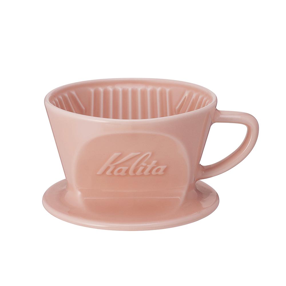 パステルカラー陶磁器 メーカー公式ショップ 陶器 波佐見焼 HASAMI 日本製 限定色 ピンク 人気の定番 コーヒードリッパー HA カリタ 101