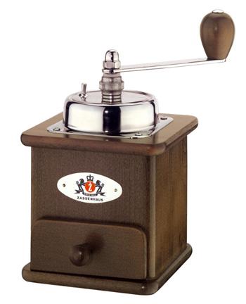 ザッセンハウス 手挽き コーヒーミル ブラジリア ダーク 手動式