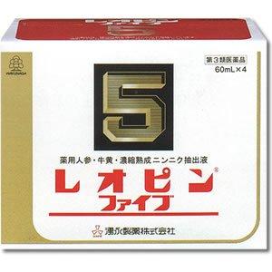 【第3類医薬品】『レオピンファイブ 60ml×4本入』