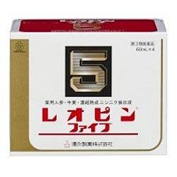 【第3類医薬品】『レオピンファイブ w 60ml 4本』