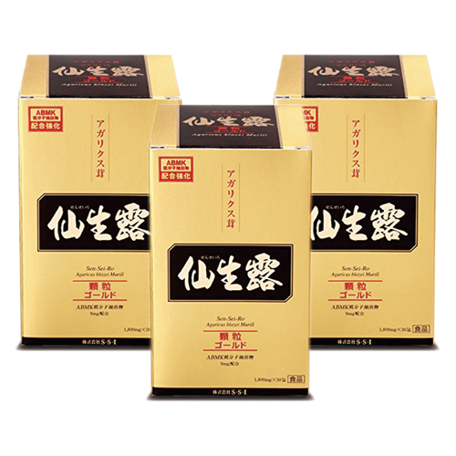 『仙生露ゴールド顆粒 3箱セット』 まとめて買えばさらにお得!【送料無料(一部地域を除く)】