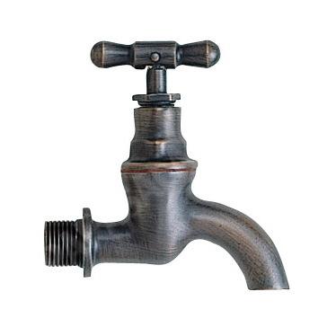 【エッセンス】ガーデンクラシック水栓,ブロンズ|ガーデニング蛇口