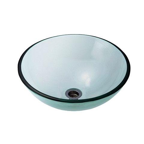 正規品 【AQUA】クリアー(Lサイズ)|ガラスの手洗い器。おしゃれな洗面ボウル:個性派水回りショップ パパサラダ-木材・建築資材・設備