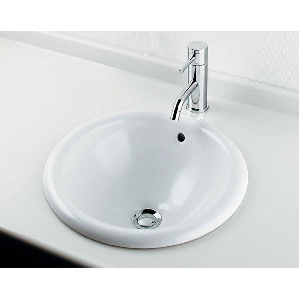#DU-0318400000 埋め込み洗面ボール141 丸型洗面器
