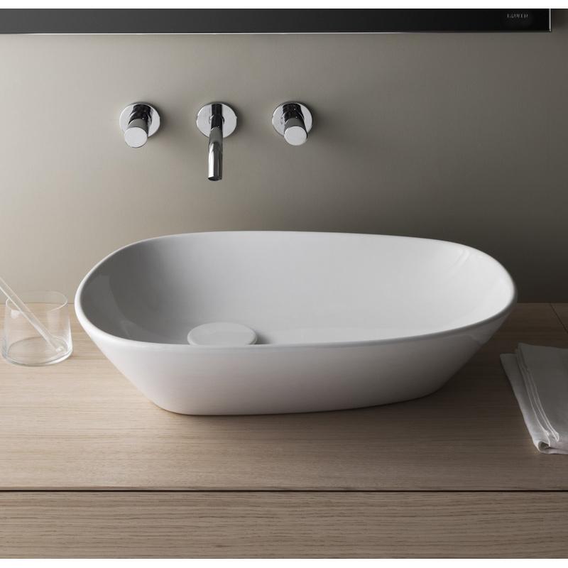 【LAUFEN】palomba collection 置型洗面器155 SL816802-W-112 (W520×D380×H110)エレガント ラグジュアリー洗面ボールハイセンスハイクオリティ