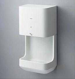 【TOTO】TYC320W クリーンドライ高速タイプ100V仕様 ハンドドライヤー エアータオル 公共トイレの手指乾燥機