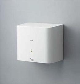 【TOTO】TYC120W クリーンドライ温風タイプ100V ハンドドライヤー エアータオル 公共トイレの手指乾燥機