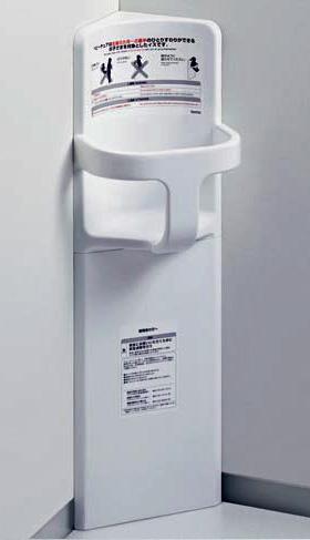 【TOTO】YKA16R ベビーチェア コーナー設置タイプ トイレ用省スペース ベビーシート 公共トイレ・商業施設