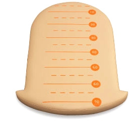 【アビーロード】C-200SM オムツっ子NR用身長計マット ベビールーム、トイレ用ベビー用品 乳児赤ちゃん用品