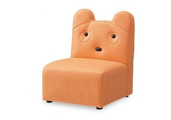 【送料無料】【アビーロード】AS-011 キッズソファ(クマ) キッズルームや託児所に最適な子供椅子 プレイルーム、待合室、子ども部屋、幼児、子ども用