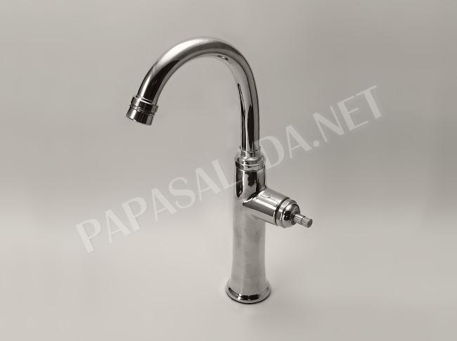 【Essence水栓】コンスタンティン単水栓 クロム|CONSTANTIN イブキクラフトの立水栓(置き型洗面ボウル用)