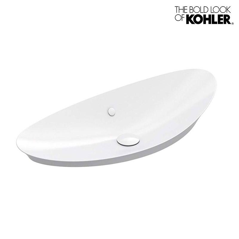 【KOHLER】Veil/ヴェイル(大)ベッセル型洗面器 K-20705 (W979×D406×H219)