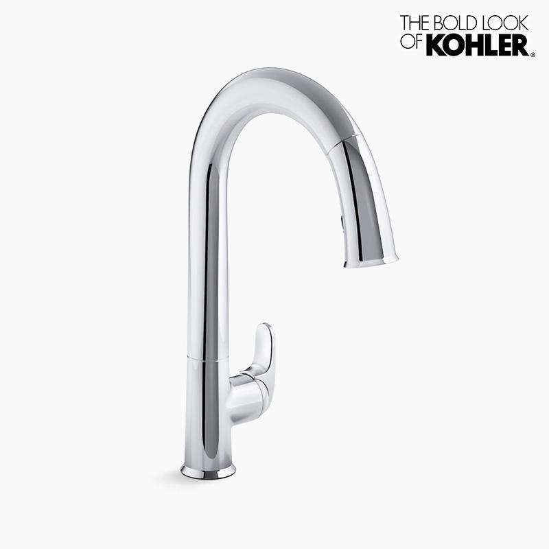 新年度キャンペーン特価 混合栓 【KOHLER】 コーラー センセート キッチン センサー 水栓 (クロム)
