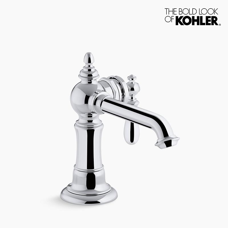 新年度キャンペーン特価 混合栓 【KOHLER】 コーラー アーティファクツ シングルレバー 洗面 水栓 (クロム)