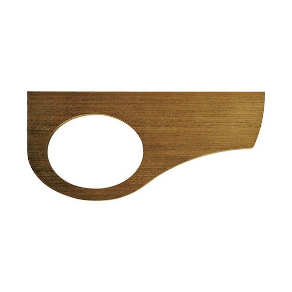 【Essence】手洗カウンター(タモ・エイジング)|省スペース手洗器用天板