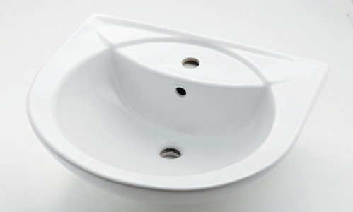 【Claytan/クレイタン】壁掛け式洗面器(W570×D475×H220 )#CL-WB1059