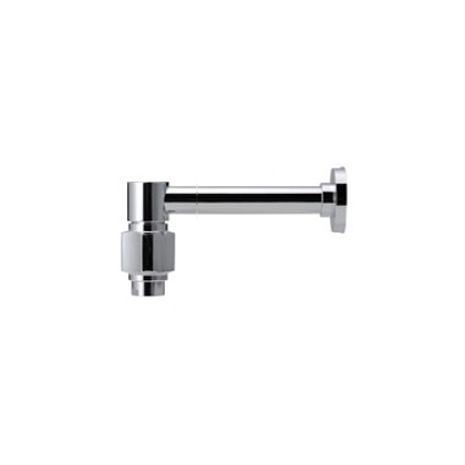 水栓金具はおしゃれに出来る、デザインのいい蛇口 【Essence】横方寸L 単水栓(クロム) (L150.2×H70.8/吐水口) E442020