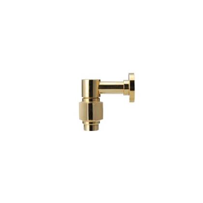 小さなサイズの水栓金具。トイレで使う蛇口 【Essence】横方寸S 単水栓(ブラス) (L75.2×H70.8/吐水口) E442039