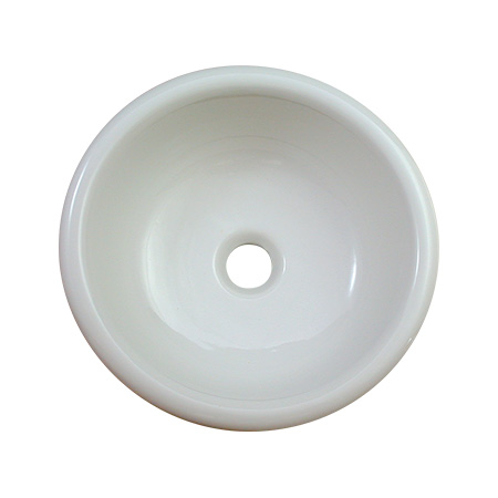 【期間限定特価】オンリーワンクラブ 陶磁器手洗器 ブランカ Mラウンド IB4-E274060