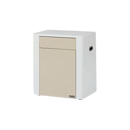 【アビーロード】BA-009 ダスタっ子FD トイレスペース用の中箱付きゴミ入れ、公共、パブリック、衛生