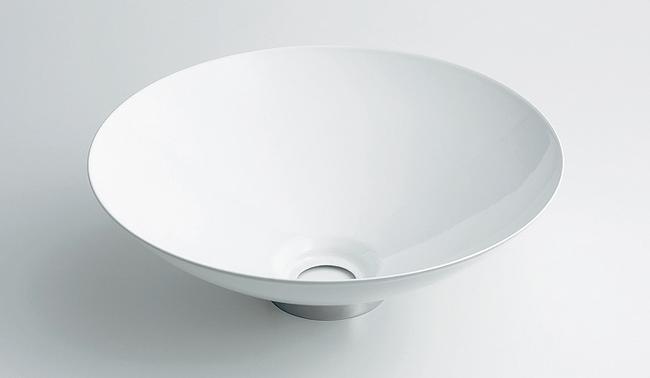 493-039-W ホーロー小型手洗器(ホワイト) ホーロー製手洗鉢