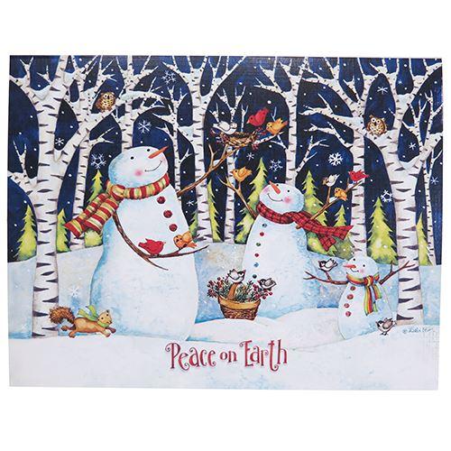 公式 スノーマンの可愛いクリスマスカード 限定数のみ再入荷 LANG ラング クリスマスカード ラッピング無料 スノーマン Snowmen Birch