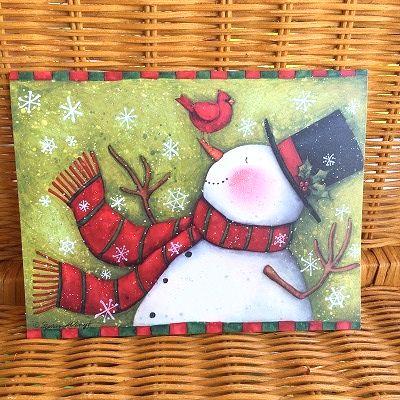 スーザンウィンゲットのクリスマスカード LANG お得セット 爆安 ラング クリスマスカード Snowman スノーマン Surprise