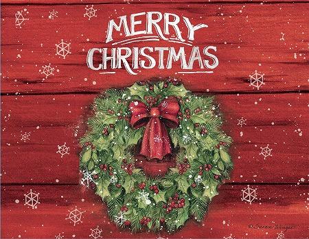 スーザンウィンゲットのクリスマスカード LANG ラング 国内在庫 クリスマスカード 期間限定お試し価格 Christmas クリスマスリース Marry