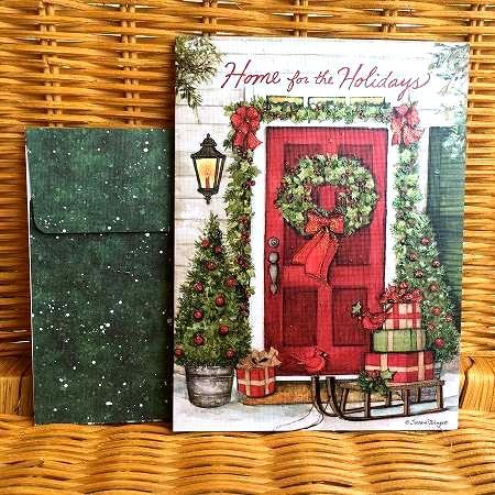 Susan Winget のクリスマスカード LANG ラング セールSALE%OFF Door Christmas クリスマスドア クリスマスカード お買い得