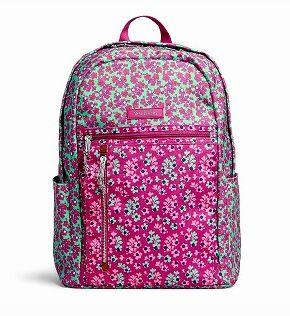 Vera Bradley ヴェラブラッドリー 軽量 バックパック スモール Small Backpack Ditsy Dot