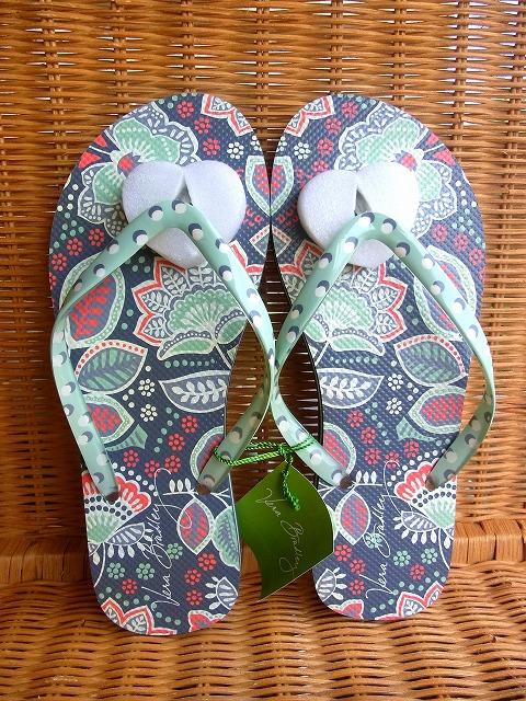 供え おしゃれなビーチサンダル 限定2 USA Vera Bradleyヴェラブラッドリー 2020A/W新作送料無料 Nomadic ビーチサンダルFlip Floral Medium Flops