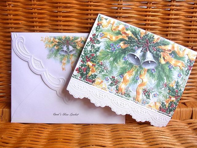 即出荷 クリスマスベルの素敵なカード NEW Carol Wilson クリスマスベルChristmas Bell Seasonal Wrap入荷 キャロルウィルソンクリスマスカード