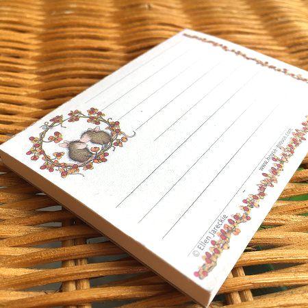 送料無料新品 アメリカより直輸入 購入 可愛いメモパッド House Mouse ハウスマウス メモパッド