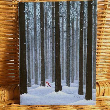 スエーデンのアーティストのクリスマスカード いよいよ人気ブランド 上品 わずかのみ入荷 スエーデンのアーティスト エヴァ ノートカード EvaMelhuish メルヒッシュ