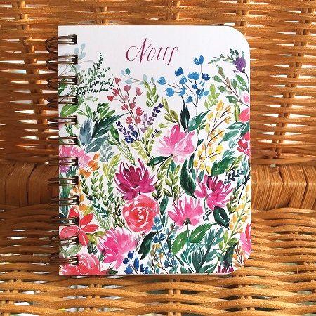 手の平サイズ 可愛いノートブック USA Legacy レガシースパイラルノート Notebook 花園Spiral スーパーセール Lined Days 大決算セール Delightful