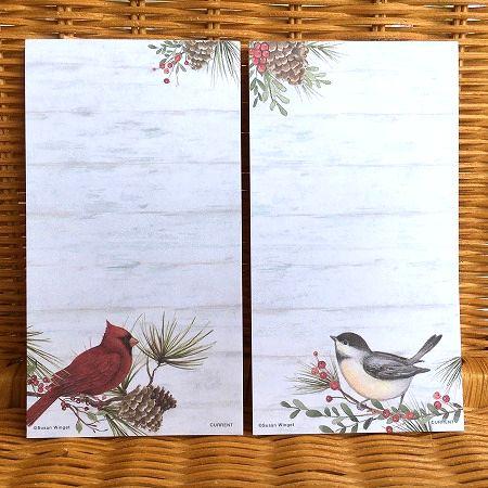 スーザンウィンゲットのリストパッド ストアー スーザンウィンゲット ミニリストパッドセットB 森の小鳥たち Woodland Cardinal 出群