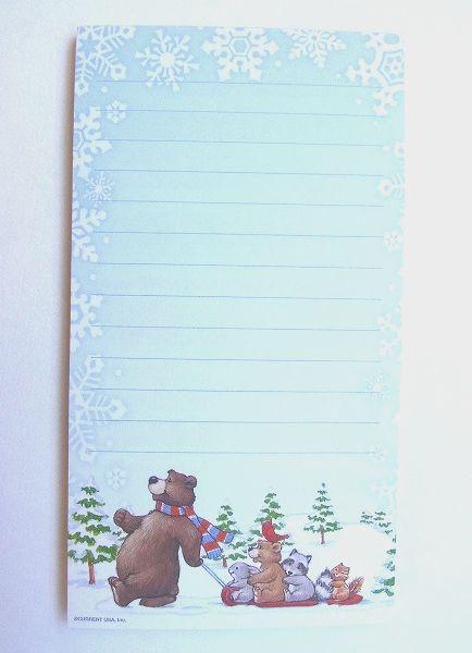 クリスマス 正規品スーパーSALE×店内全品キャンペーン リストパッド 限定数のみ入荷 ミニリストパッド Christmas 無料 クマちゃん Bears Sledding