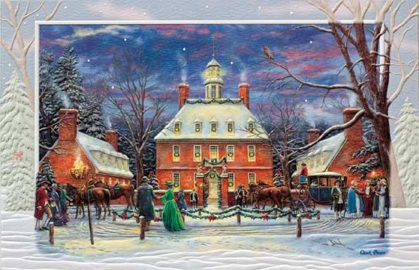 飾っておきたくなる超大判クリスマスカード USA Pumpernickel 希望者のみラッピング無料 Press クリスマスカード 売れ筋 超大判 Party クラシカルなパーティ Governor's