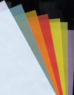 色付きのトレーシングペーパーです カラートレス クロマティコ 100g 新登場 m2 A4 当日発送応相談 トレーシングペーパー 10枚 コピー用紙 期間限定の激安セール カラー用紙 半透明紙