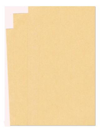 贈答品 クラフト包装紙 厚い 緩衝材 梱包紙にもオススメ 明るい色の半晒両更 クラフト紙 108k A6 or ラッピング ハトロン紙 200枚 包装紙 詰紙 はがきサイズ 印刷用紙 低価格 型紙 あす楽