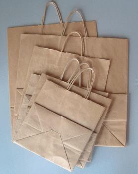 登場大人気アイテム 衣料 雑貨など幅ひろくご利用できます 25チャーム手提げ袋 21-12 巾210×マチ120×高250紙袋 50枚 未晒無地 大規模セール